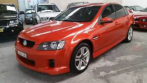 2006 Holden Commodore VE SV6 Ignition Orange 6 Speed Manual Waratah Newcastle Area Preview