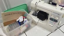 Janome Sewing Machine & Basket Pimlico Townsville City Preview