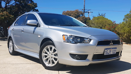 2012 Mitsubishi Lancer LX automatic with leather