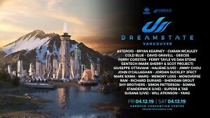 Dreamstate general admission ticket