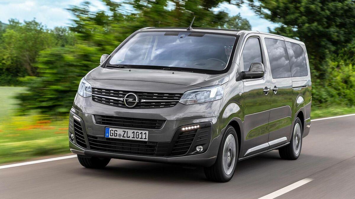 Opel Zafira Life 2019 Test Fahrbericht Preis Mobile De