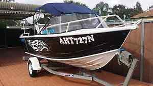 5m Quintrex Aluminium Fishing Boat Colyton Penrith Area Preview