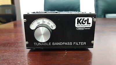 Kl Tunable Bandpass Filter 5bt-110220-5-nn