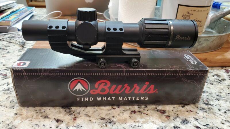 Burris RT-6 1-6x24mm Riflescope - with P.E.P.R Mount