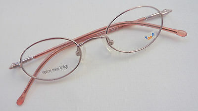 Flexible stabile Brillenfassung für Mädchen kids Kinderbrille oval rosa Gr. K