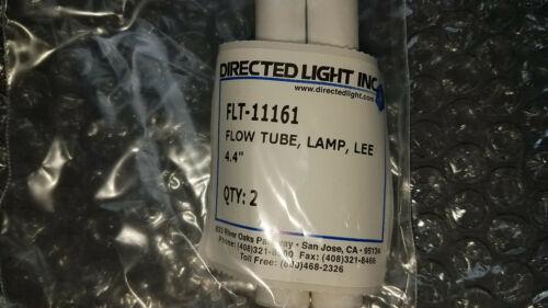 Pair New Lee Laser Nd:YAG Laser Lamp 4.4 inch Flow Tubes FLT-11161