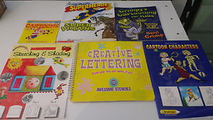 6 creative arts and drawing books Shelley Canning Area Preview