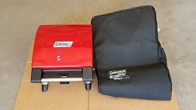 Coleman NXT  Portable  Tabletop Camping  Grill With Carry Bag Coleman Portable Grill