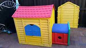 Kids cubbyhouse & climbing slide. Play gym Botany Botany Bay Area Preview