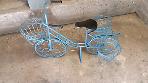 Garden ornament in shape of bicycle Stafford Heights Brisbane North West Preview