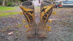Motorbike boots mens size 10 Myponga Yankalilla Area Preview