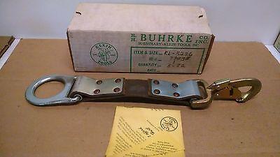 Nos Klein Buhrke Kl-5236 Belt Strap Extension Kl5236 J277