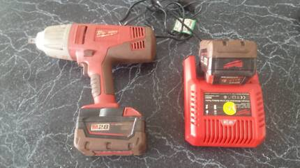 Milwaukee 1/2 drive impact wrench rattle gun m28 Forrestfield Kalamunda Area Preview