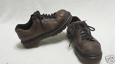 Dr.Martens brown low oxford shoes~Men's 6~Leather~8312~AW 004~4 eyelet/2 (4 Eyelet 2 D-ring)