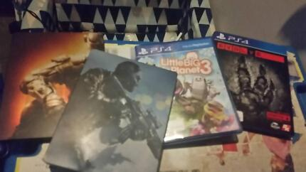 playstation 4 games for cheap (need gone asap)