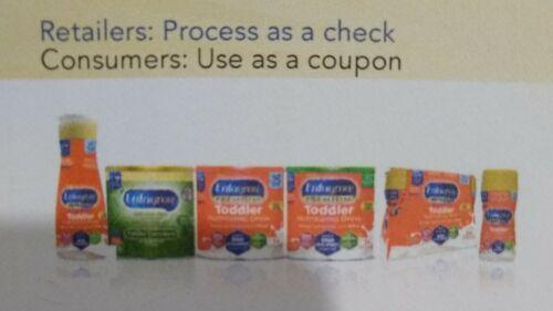 Enfagrow coupons total worth $16