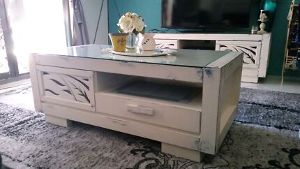 Shabby chic revamped coffe table  Bankstown Bankstown Area Preview