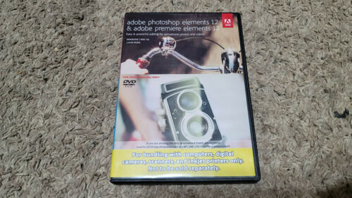 Adobe Photoshop Elements and Premiere elements 12 - OEM - Read