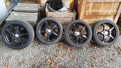 SSR Integral A2 7+8x17 Alufelgen Felgen Radsatz wheels rims alloys Toyota MR2 gebraucht kaufen  Faustermühle