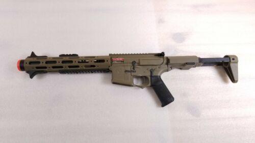 Ares AM013 EFCS Amoeba Honey Badger Upgraded AEG Electric Airsoft Rifle Tan