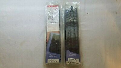 Gbc Presentation Binding Combs Binder Spiral 13-12 Black 23-38 Navy Blue