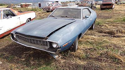 1972 Amc Javelin Sst Buckets Console 304   No Reserve    1972 Amc Javelin Sst    No Reserve