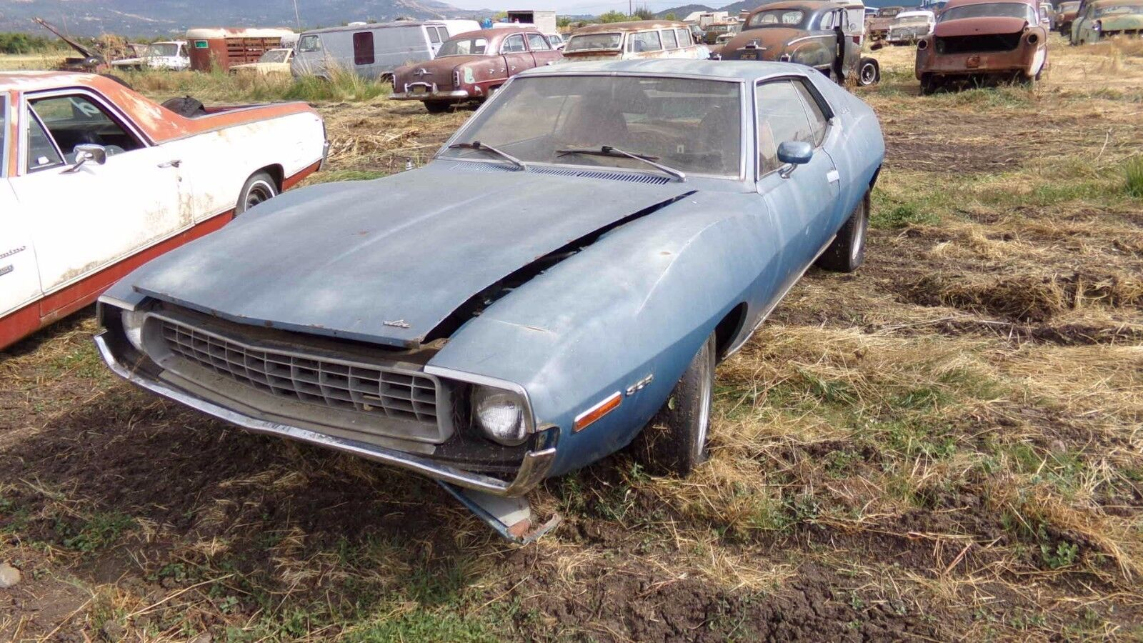 1972 AMC Javelin SST BUCKETS CONSOLE 304 **NO RESERVE*** 1972 AMC JAVELIN SST ***NO RESERVE*****