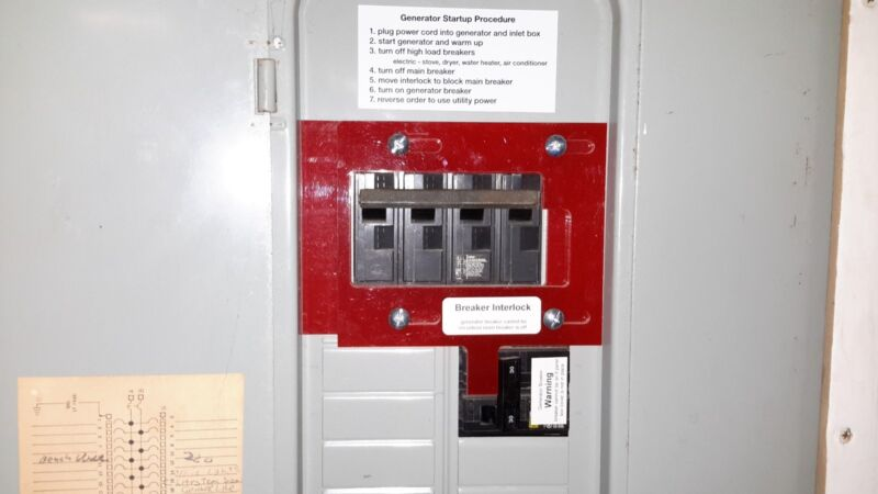 M-1 Generator Interlock Kit for Murray/ITE/Siemens Breaker Panel