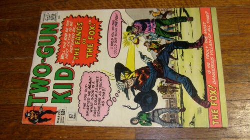 TWO GUN KID #67, vintage MARVEL WESTERN COMIC, VG