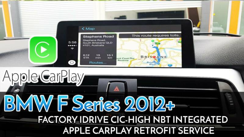 BMW NBT iDrive CarPlay Installation | Audio, GPS & Car Alarms