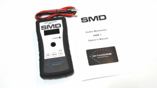 SMD AMM-1 Steve Meade Audio Multimeter AMM1 Car Audio Amp Clamp