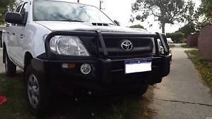 Nissan Navara D22 bullbar winch comatible Premium bull bar 4x4 Wattle Grove Kalamunda Area Preview