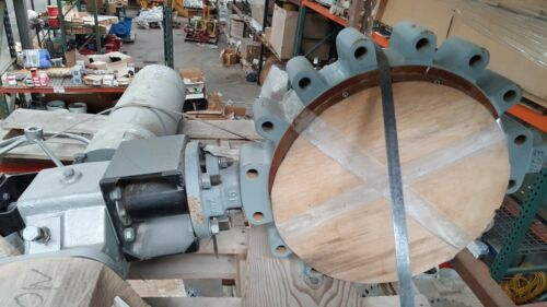FlowServe Automax Butterfly Valve with Actuator