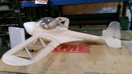 R.C. model plane. Piper Skycycle.