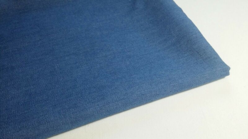 """Denim Washed  with Blue color, 57""""/59"""" width, by the yard"""