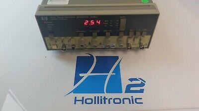 Hewlett Packard 8111a Pulsefunction Generator 20 Mhz