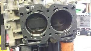 Subaru 2.5 Head gasket repair.