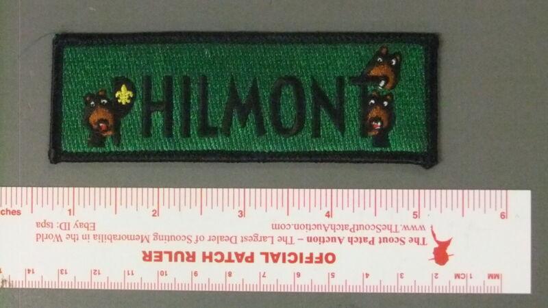Boy Scout Philmont Mini Bears Patch 5054HH