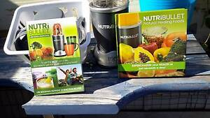 NutriBullet. Plus recipe book and Natural Healing Foods Book. Nome Townsville Surrounds Preview