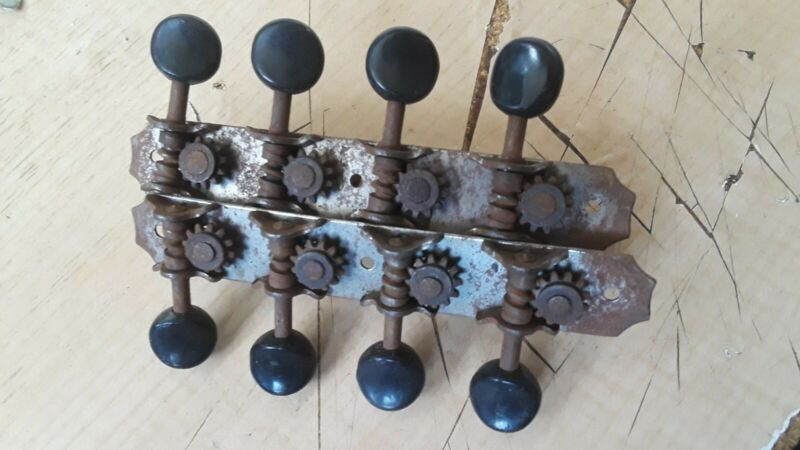 Vintage Mandolin 8 String Tuners Kluson