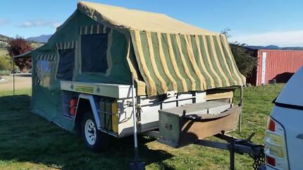 Trak Shak camper trailer Granton Derwent Valley Preview