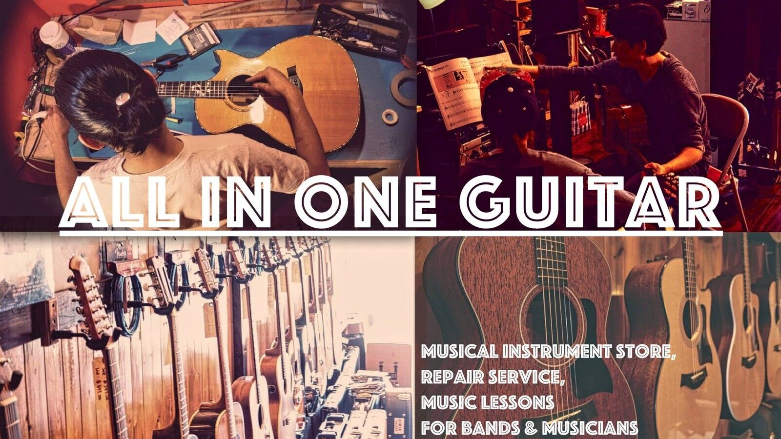 All-in-One Guitars