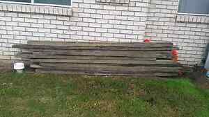 Railway sleepers Caboolture South Caboolture Area Preview