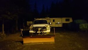 2005 Ford F-250 XLT 4x4 6.0L Diesel With Plow and Sander! St. John's Newfoundland image 3