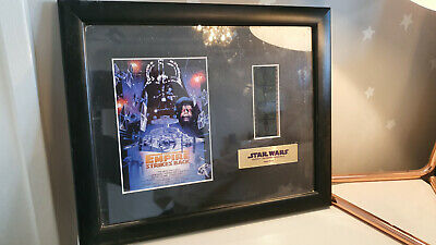 Star Wars Empire Strikes Back Film Cell in frame