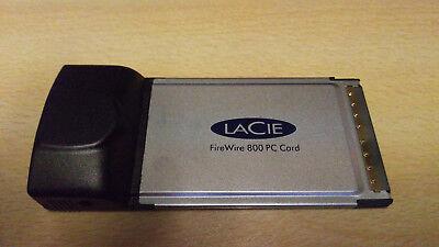 LaCie Firewire 800/400 PCMCIA CARD