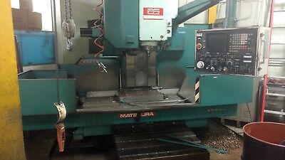 Used Matsuura Mc 1000 V5 Cnc Vertical Machining Center Mill 40x20 Fanuc 1984