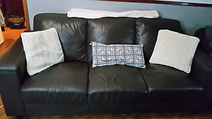 3 seater nice faux leather Bossley Park Fairfield Area Preview
