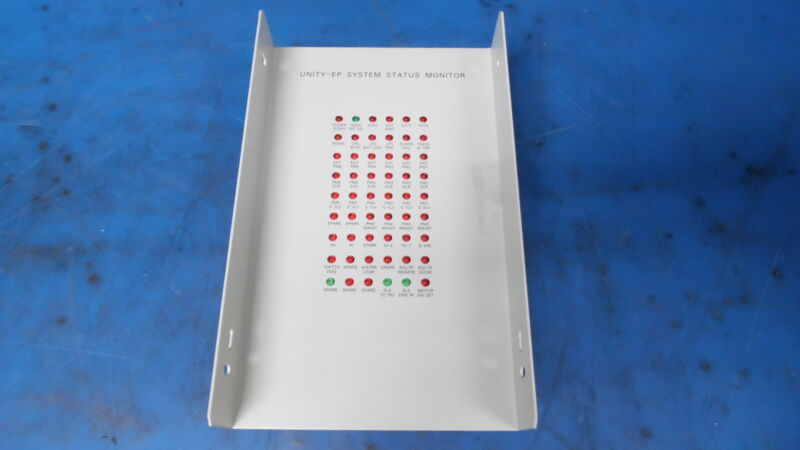 Tokyo Electron Limited Tel Unity Ep System Status Monitor