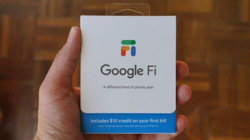 Free Google Fi US$20 Credit - JCRRDD